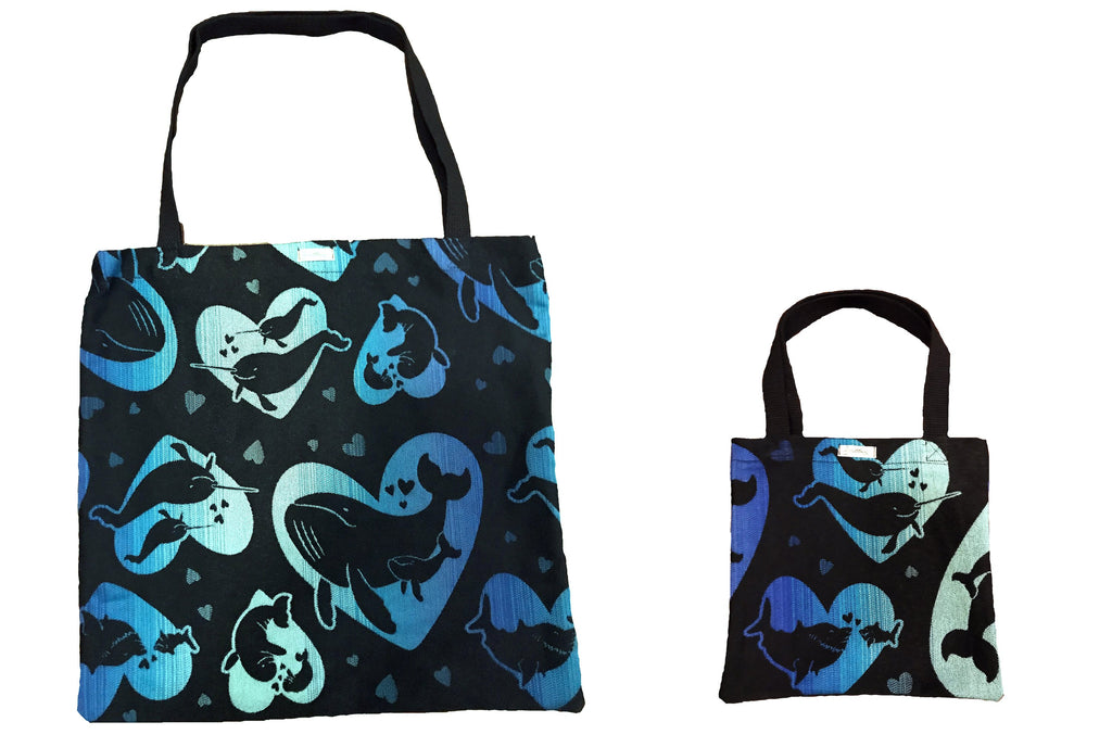 smitten with wovens Blubberlove Fatticorn Mini-Me Tote Set