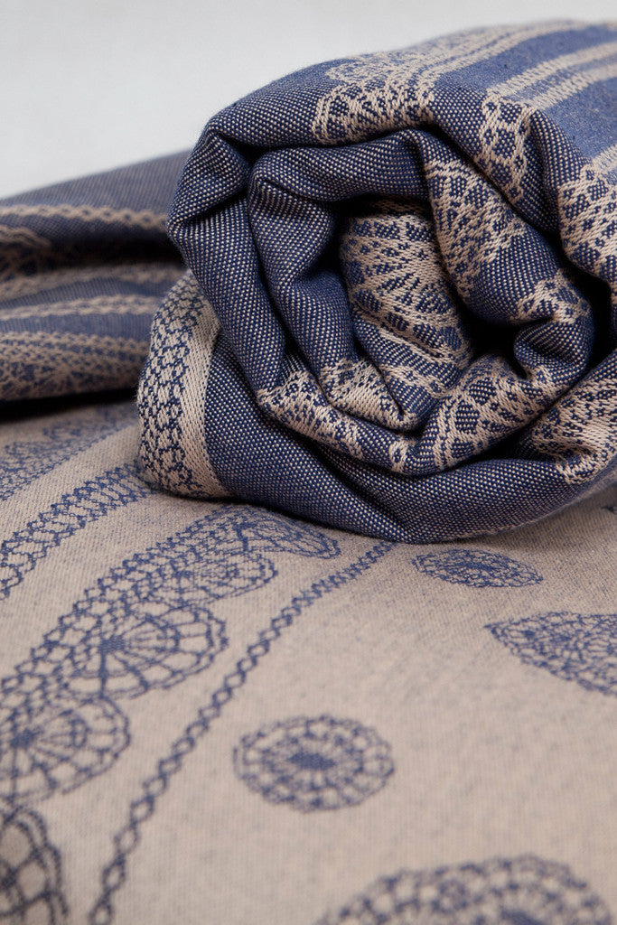 Lenny Lamb Blueberry Lace Wrap (cotton)