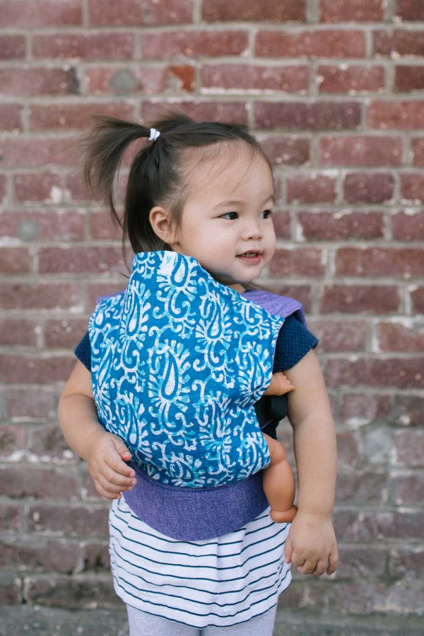 Soul Slings Blueberry Buckle Doll Carrier