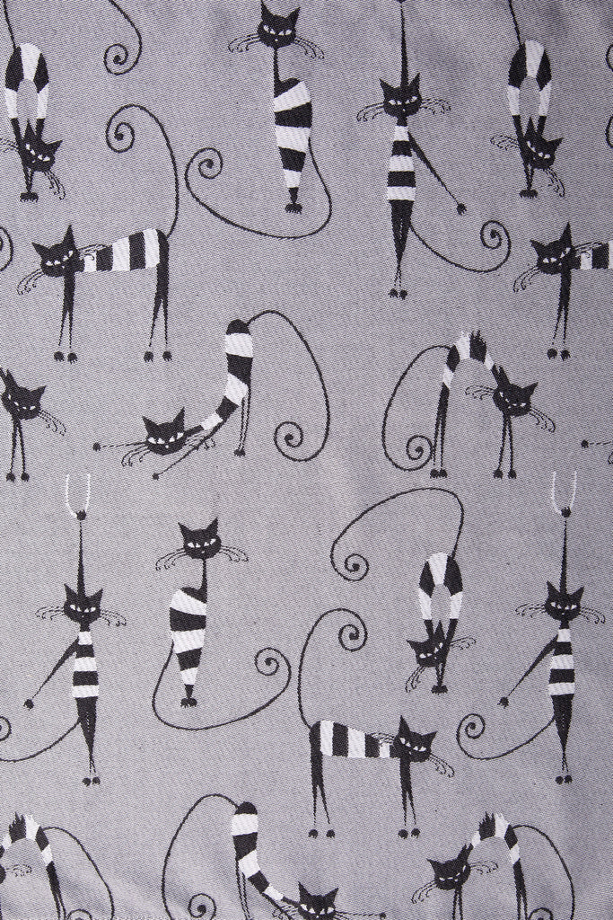 Lenny Lamb Crazy Cats Wrap (cotton)