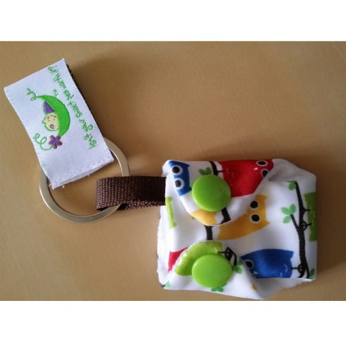 Sweet Pea Diapers Keychain