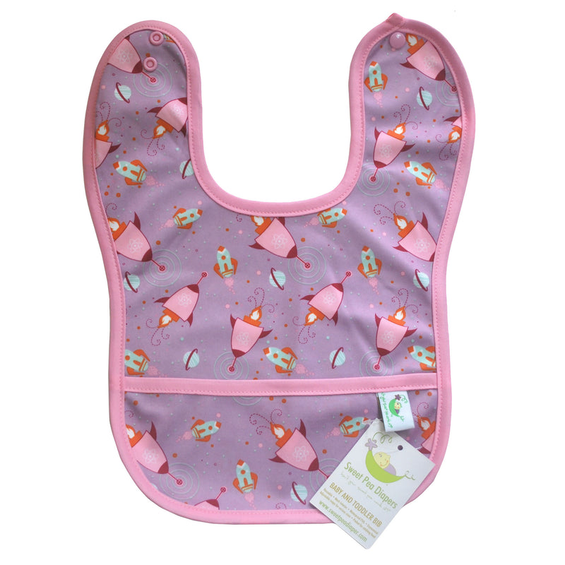 Sweet Pea Diapers Baby and Toddler Bib