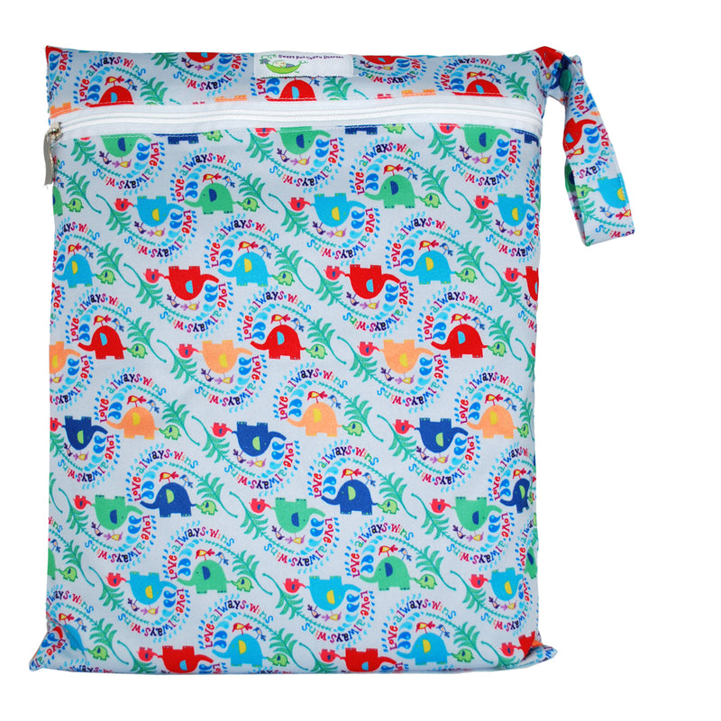 Sweet Pea Diapers Wet Bag