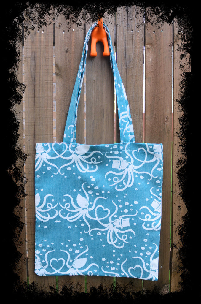 Smitten with Wovens Cephalabration You're INkredible Tote Bag Made in America