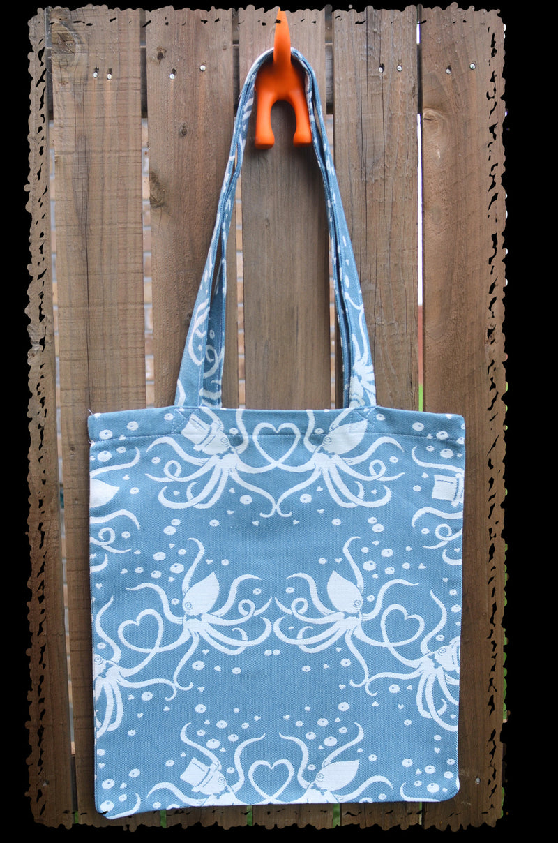 Smitten with Wovens Cephalabration - We Squid You Not TOTE BAG  Made in America