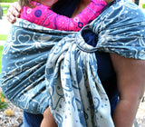 Smitten with Wovens Cephalabration - We Squid You Not Ring Sling cotton