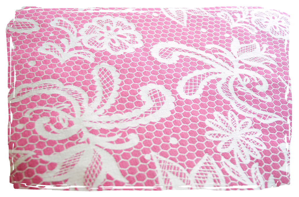 Smitten with Wovens Chantilly - Anne woven wrap made in America