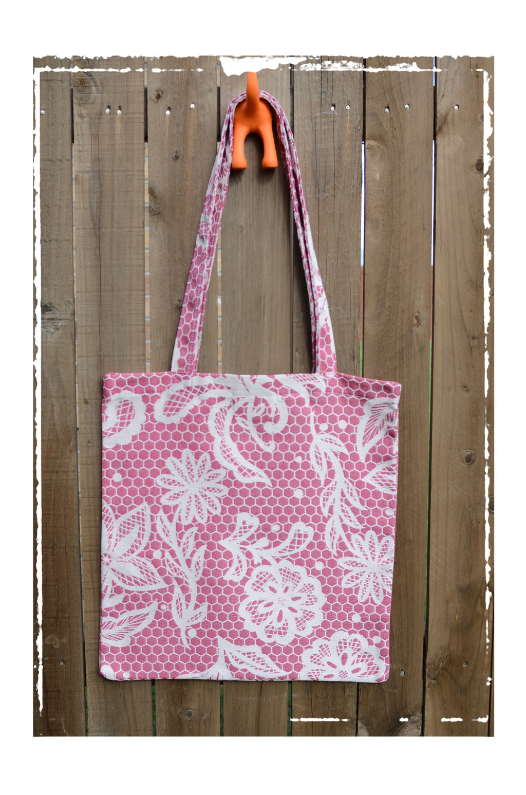 Smitten with Wovens Chantilly - Anne TOTE BAG Made in America