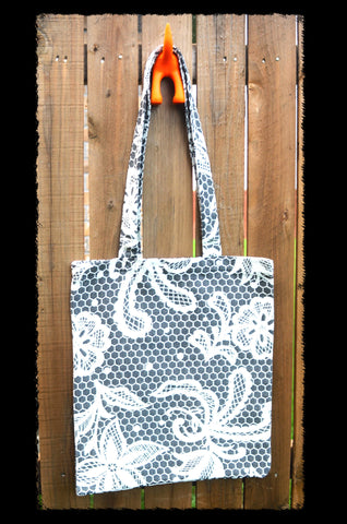 Smitten with Wovens Chantilly Catherine TOTE BAG Made in America