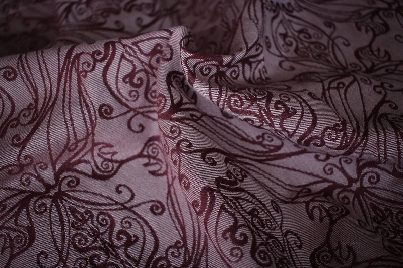 Yaro Elvish Bordeaux Oleander Wrap (Organic Cotton)