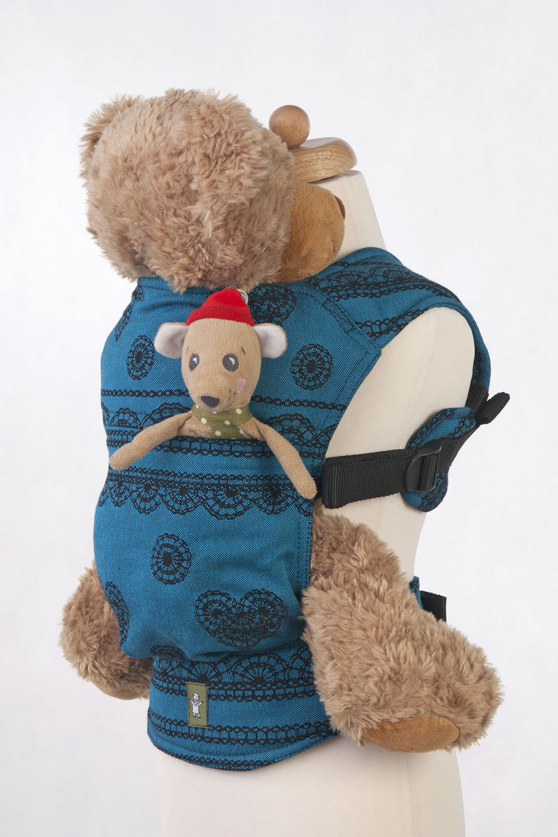 Lenny Lamb Doll Carrier DIVINE LACE Reverse