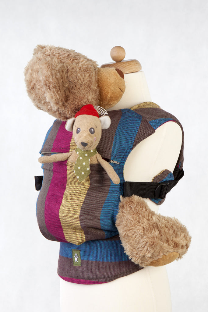 Lenny Lamb Doll Carrier FOREST MEADOW
