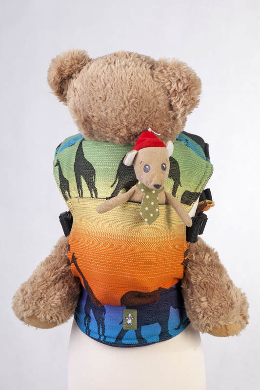 Lenny Lamb Doll Carrier Rainbow Safari 2.0