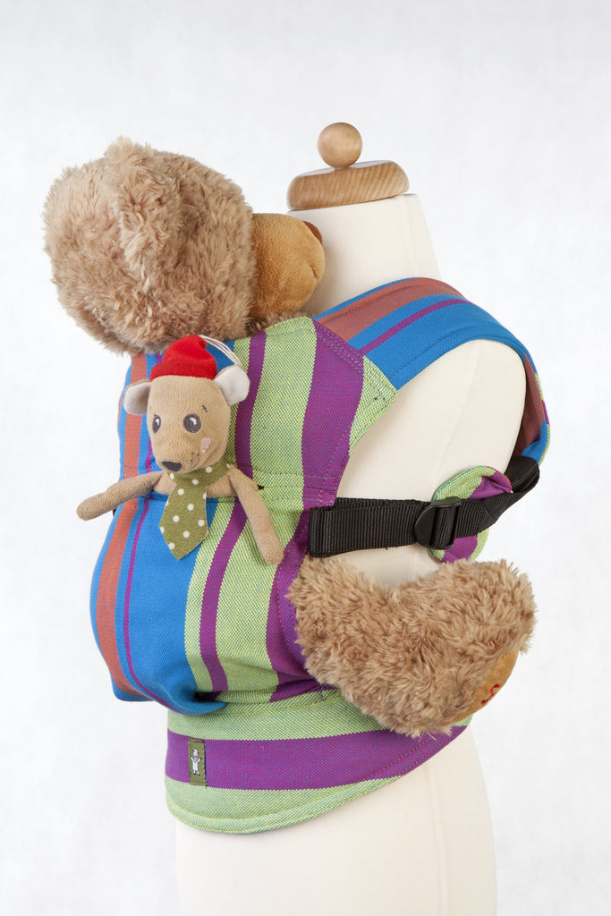 Lenny Lamb Doll Carrier Zumba Blue