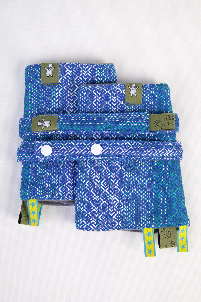 Lenny Lamb Drool Pads and Reach Straps Set Little Love Ocean