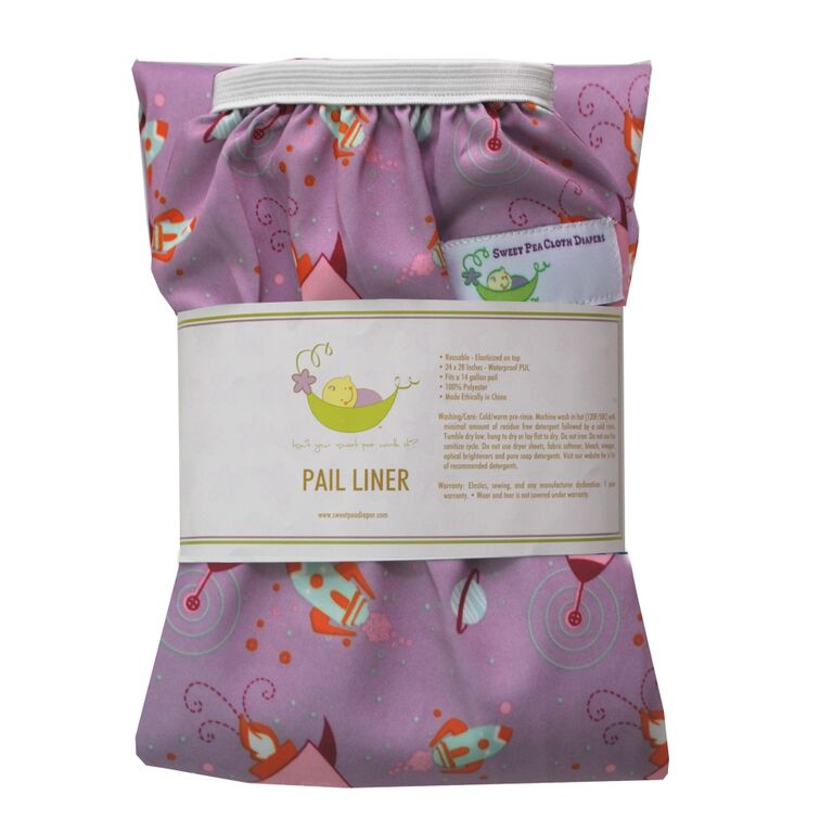 Sweet Pea Diapers Pail Liner