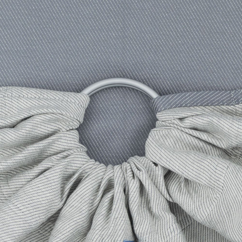 Fidella Line Grey Stone Ring Sling (organic cotton)