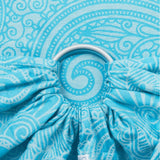 Fidella Masala Scuba Blue Ring Sling (organic cotton)