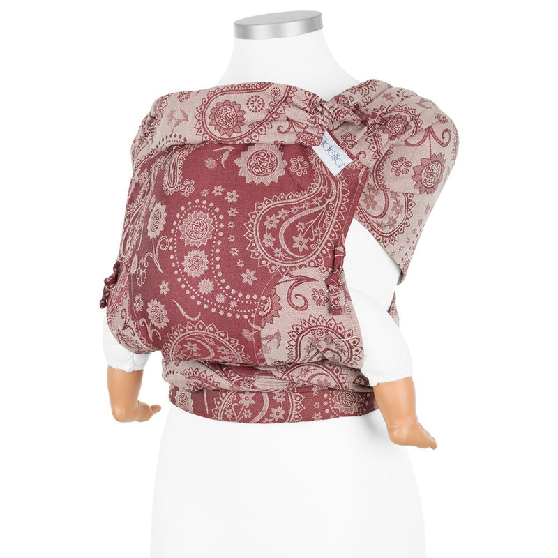 Fidella Paisley Ruby Red Fly Click Half Buckle Carrier (SSC/Meh Dai)