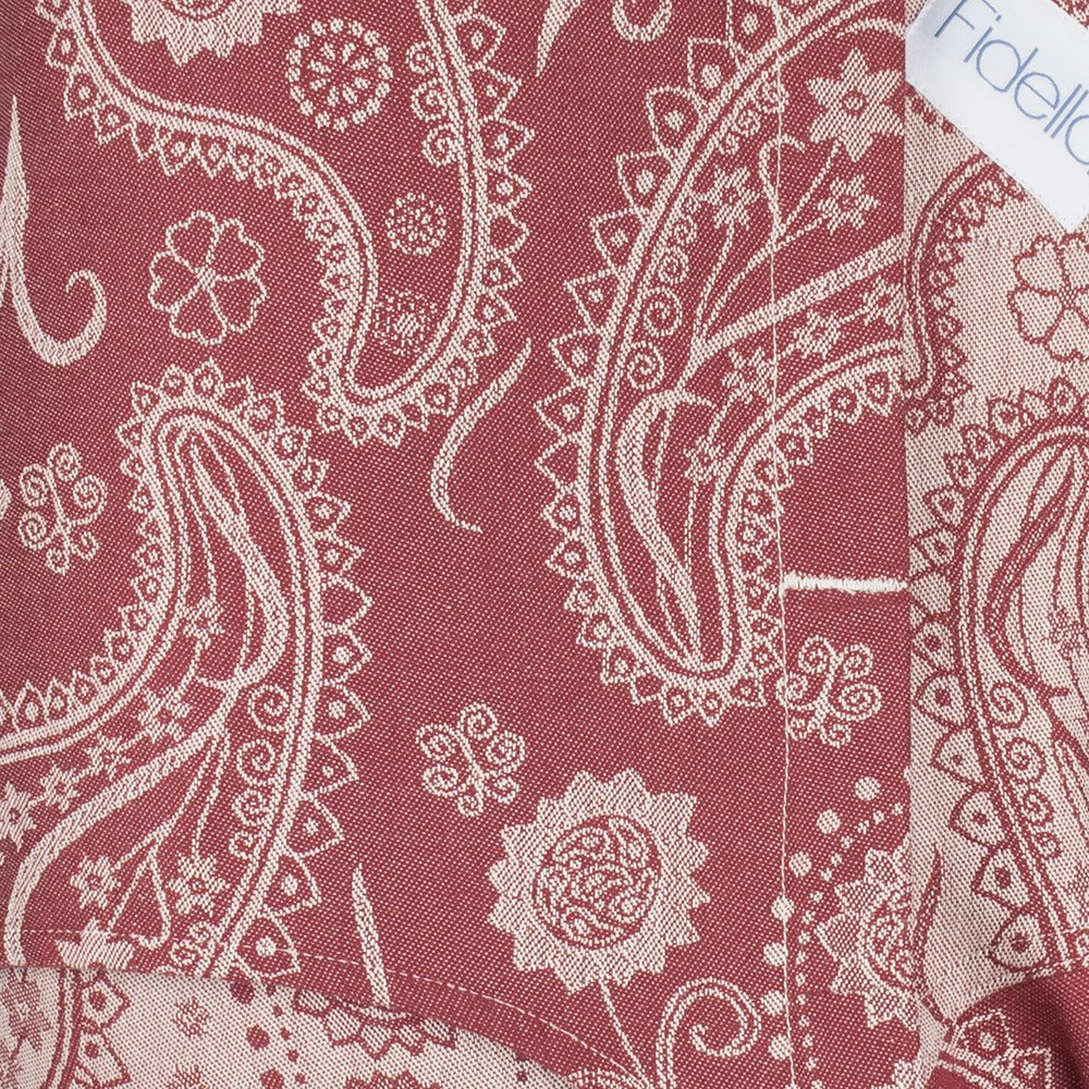 Fidella Paisley - Ruby Red V2 Onbuhimo