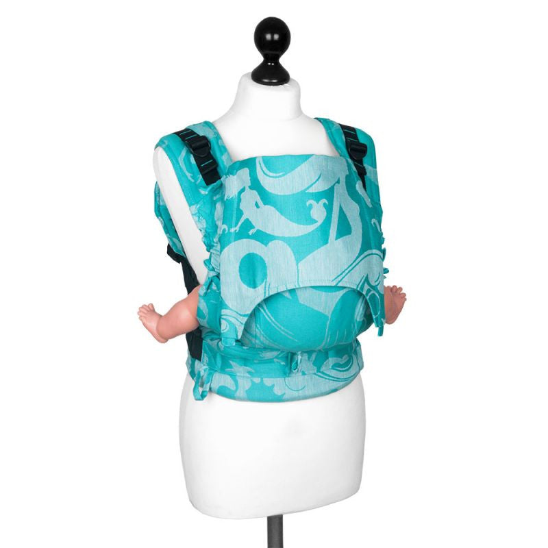 Fidella BABY SIZE Fusion - Sirens- Blue Soft Structured Carrier