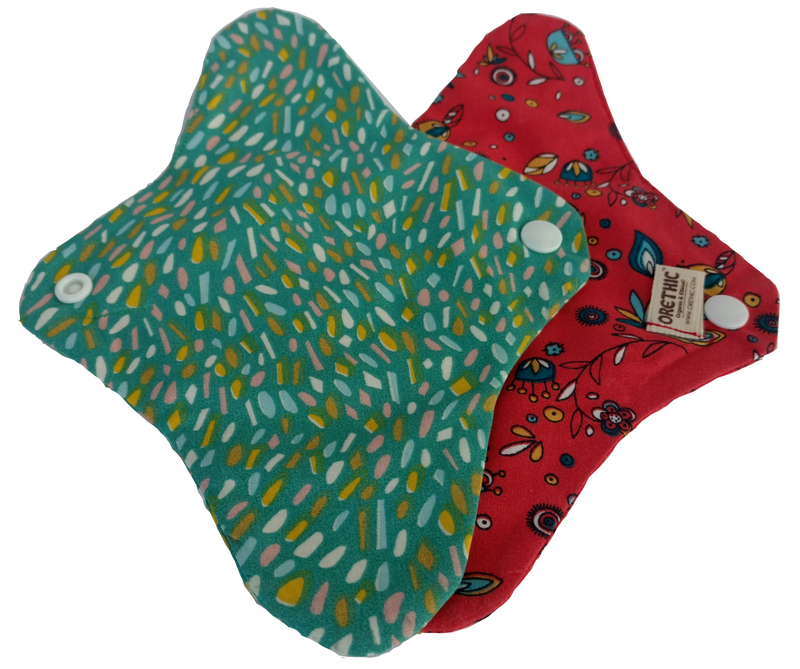 Orethic Reusable Sanitary Pad - SUPER-THIN LINER (organic cotton)