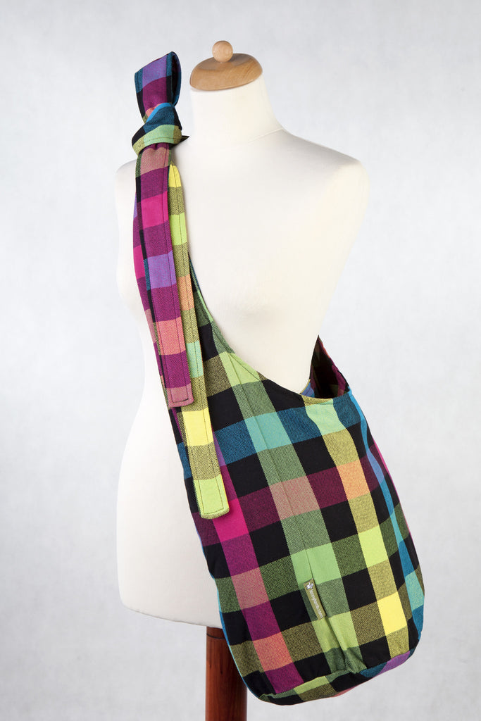 Lenny Lamb Hobo bag Plaid Diamonds