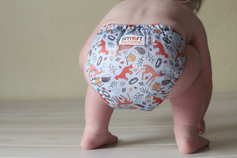 Smart Bottoms Dream Cloth Diaper 2.0 (no prep!) forest friends