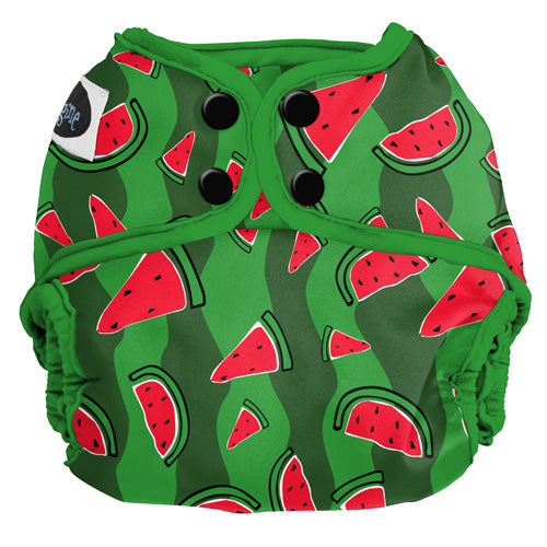 Imagine All-In-Twos Diaper Cover One Size Watermelon Patch AI2 shell