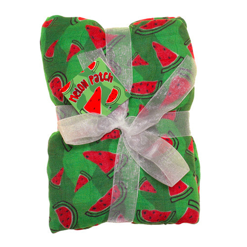 Imagine Bamboo Swaddling Blanket Watermelon Patch