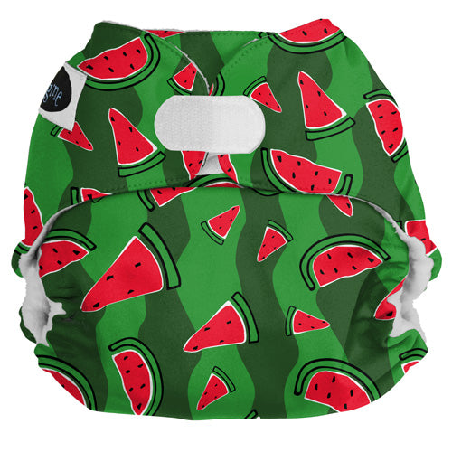 Imagine Pocket Cloth Diapers Watermelon Patch Hook and Loop