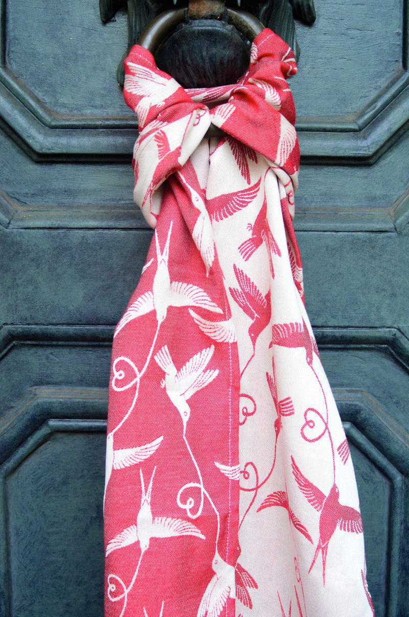 Smitten with wovens Nimh - Jenner Scarf and Doll Sling Made in US american
