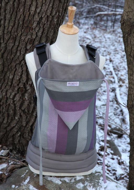 Wompat Soft Structured Carrier Nisus Grey
