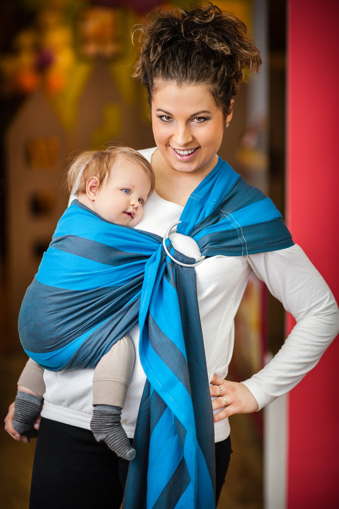 Lenny Lamb OCEAN DEPTH Ring Sling (cotton)