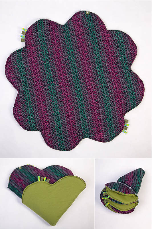 Lenny Lamb Baby Mat - Little Love Orchid