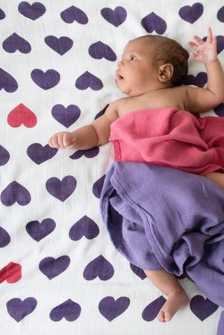Tula Blanket Set Love Violette