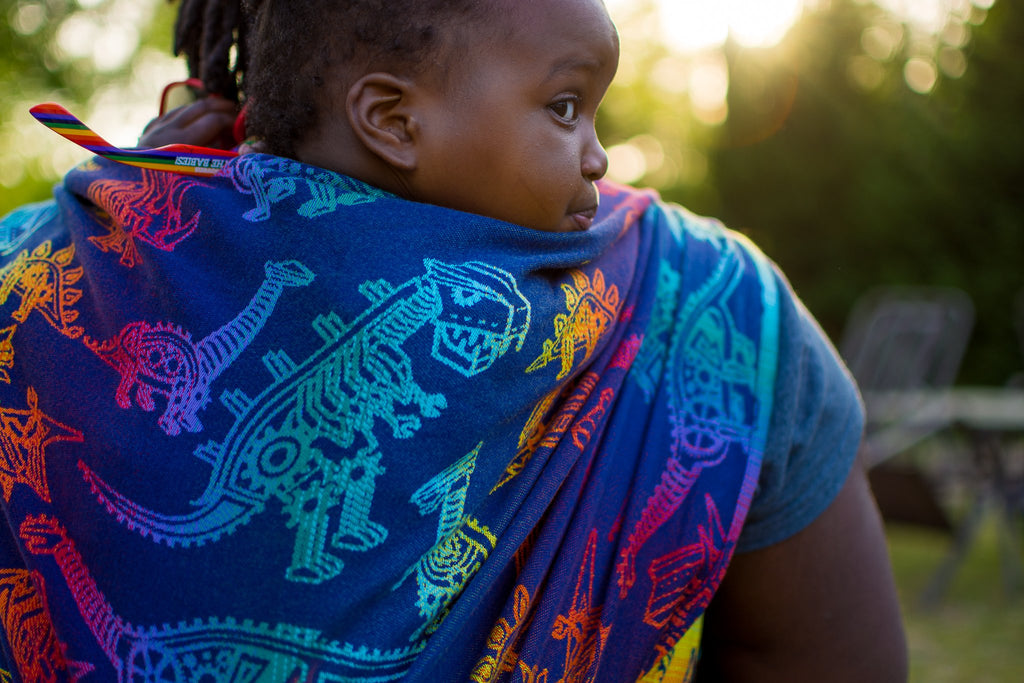 Smitten with Wovens Land Before Cogs - Pinion Babywearing Wrap