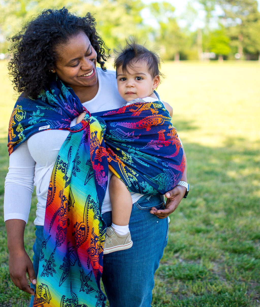 Smitten with Wovens Land Before Cogs - Pinion Ring Sling
