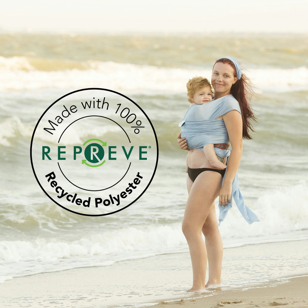Beachfront Baby Water Wrap Made from Repreve®