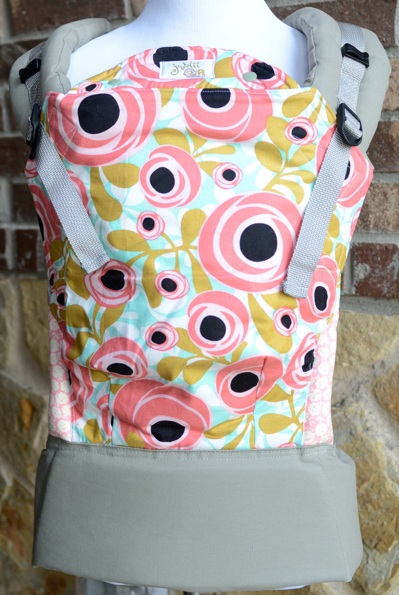 Jublii Creations Soft Structured Carrier - Roses
