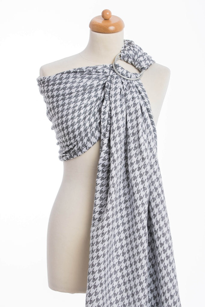 Lenny Lamb Little Pepitka (cotton/linen) Ring Sling