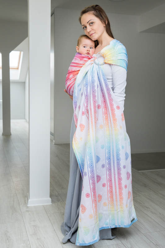 Lenny Lamb Rainbow Lace (cotton) Ring Sling