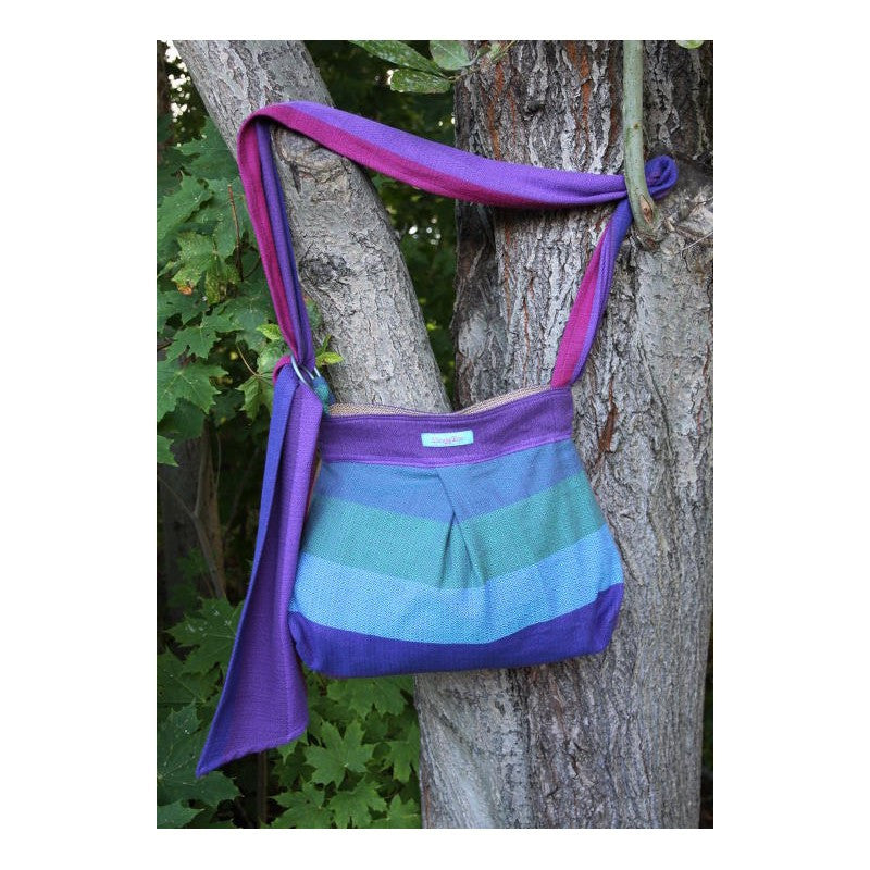 Wompat Slingyroo RB Rainbow Diamond Purple Wrap Conversion Bag