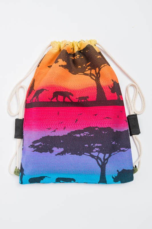 Lenny Lamb Rainbow Safari Sackpack