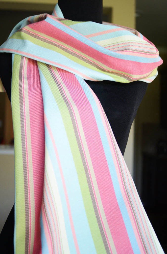Smitten With Wovens - Watermelon - Jubilee Scarf