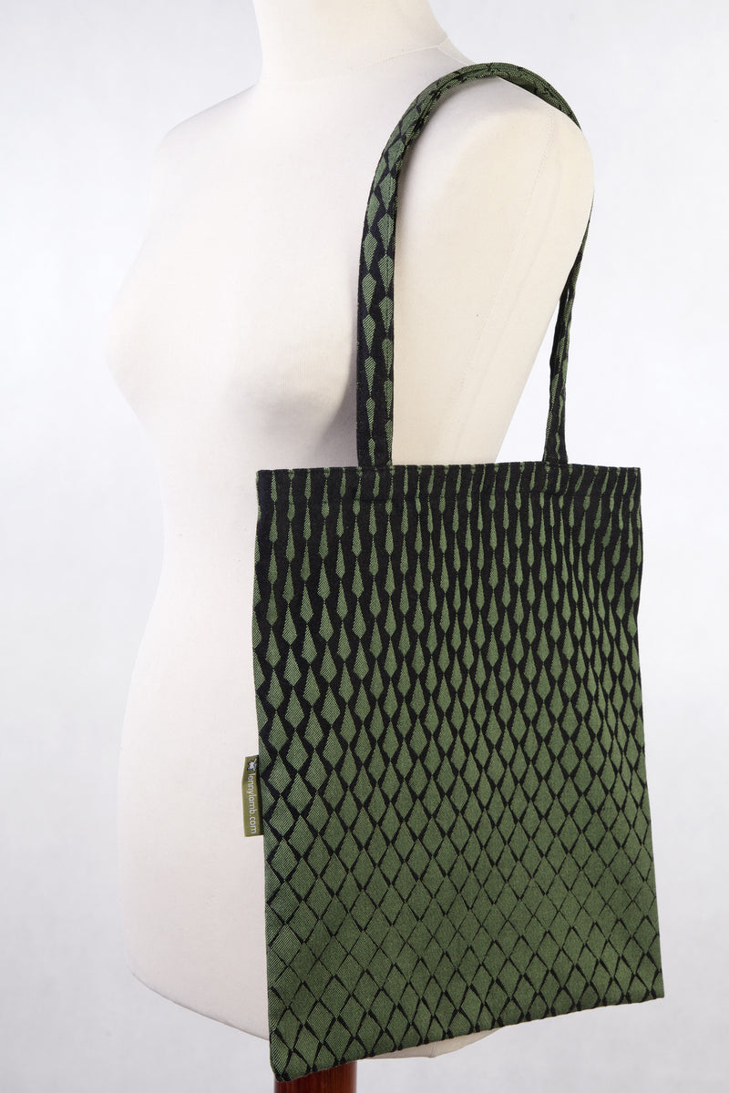 Lenny Lamb Shopping bag Lenny Icicles Black and Green