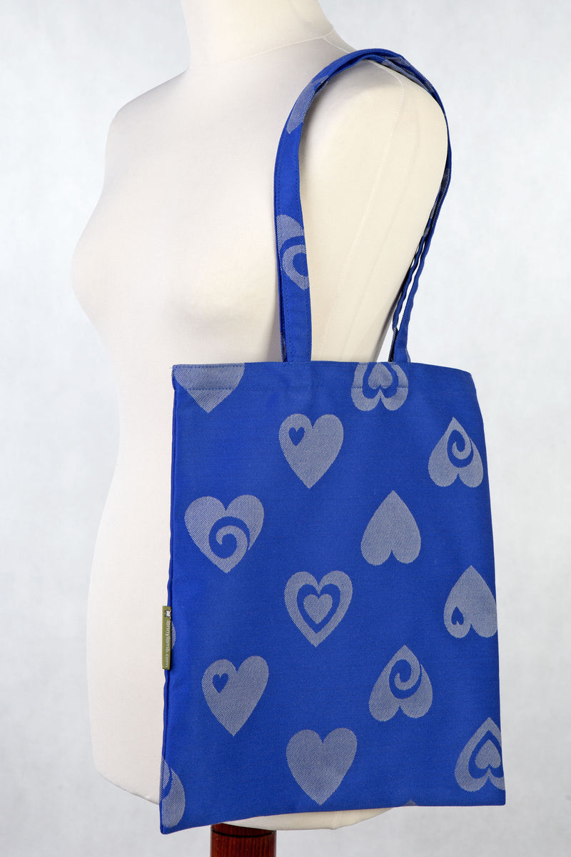 Lenny Lamb Shopping bag Sweetheart Blue Gray