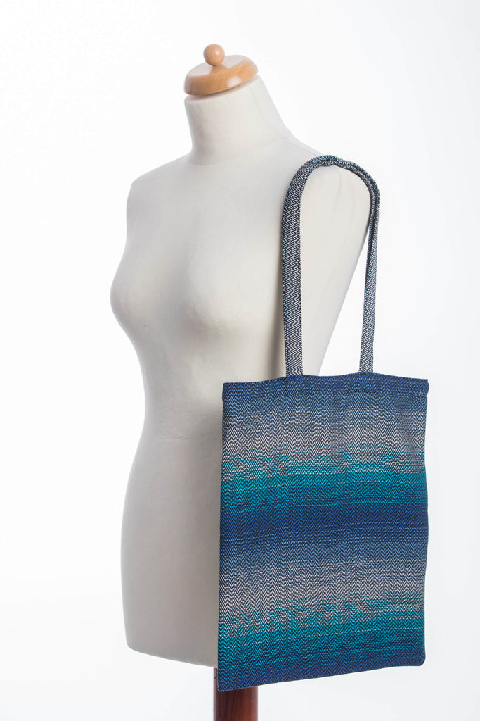 Lenny Lamb Shopping bag Little Herringbone Illusion