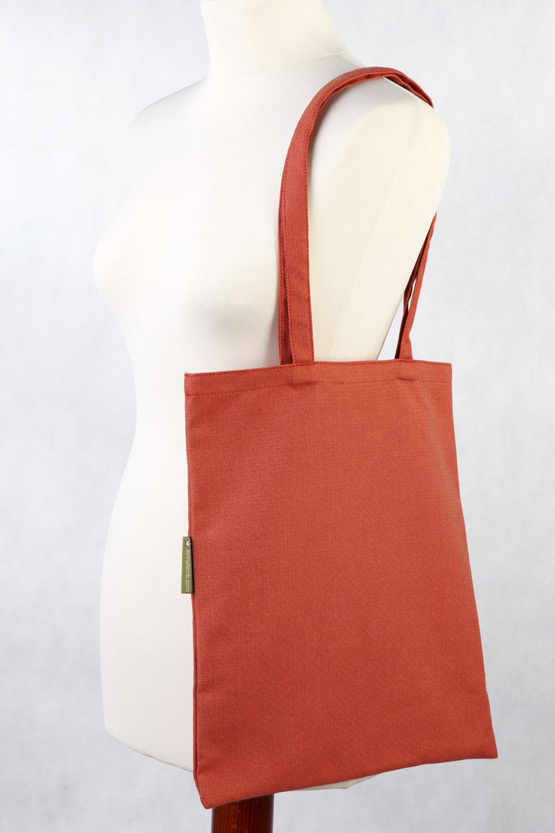 Lenny Lamb Diamond Burnt Orange Shopping bag