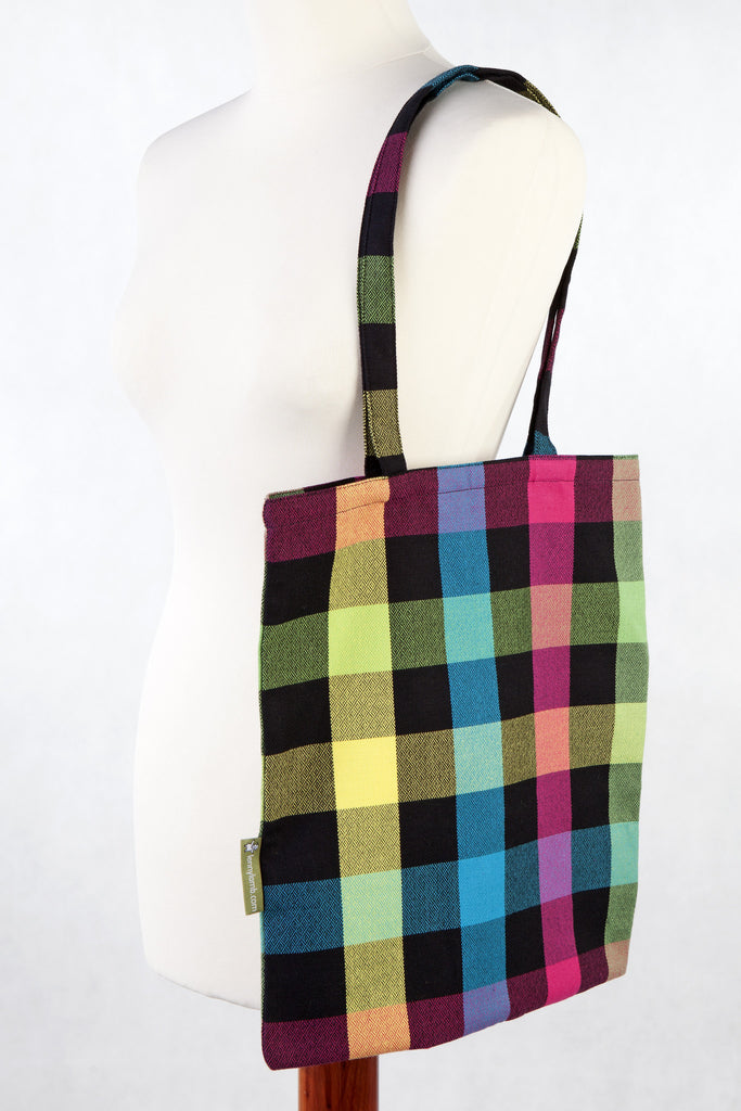 Lenny Lamb Shopping bag Plaid DIAMONDS